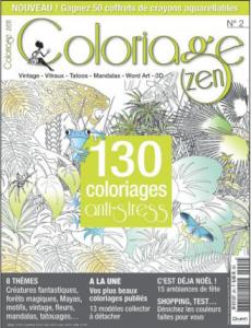revue coloriage Zen 2H