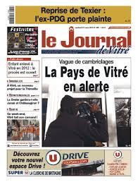 journal de vitré du 27.03.2015
