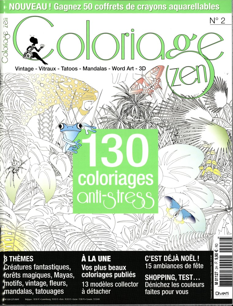 Coloriage Anti Stress Magazine.Revue Coloriage Anti Stress